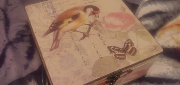 Ящик для открыток