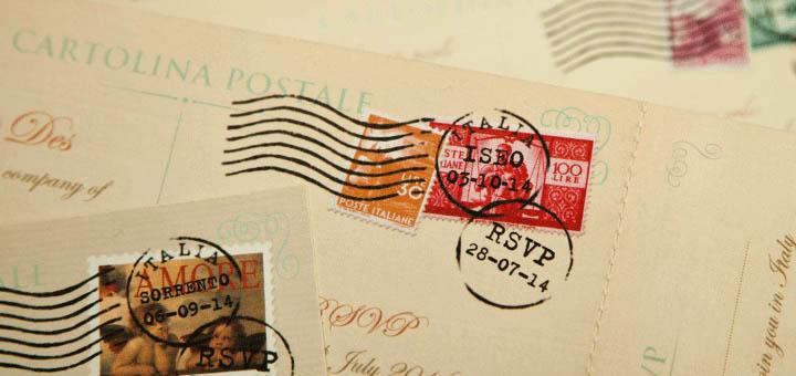Открыточки, письма, марки